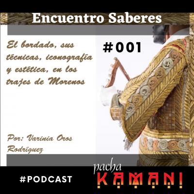 #001 El bordado en los trajes de la danza de la Morenada