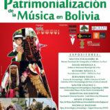 """Simposio Internacional: """"REFLEXIONES SOBRE LA PATRIMONIALIZACIÓN DE LA MÚSICA EN BOLIVIA"""""""