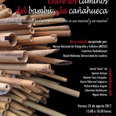 Entre los caminos del bambú y la caña hueca Desde la diversidad biológica acústica hasta su uso musical y no musical