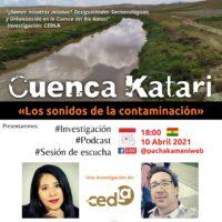 Cuenca Katari – Los sonidos de la contaminación | Webinar LIVE